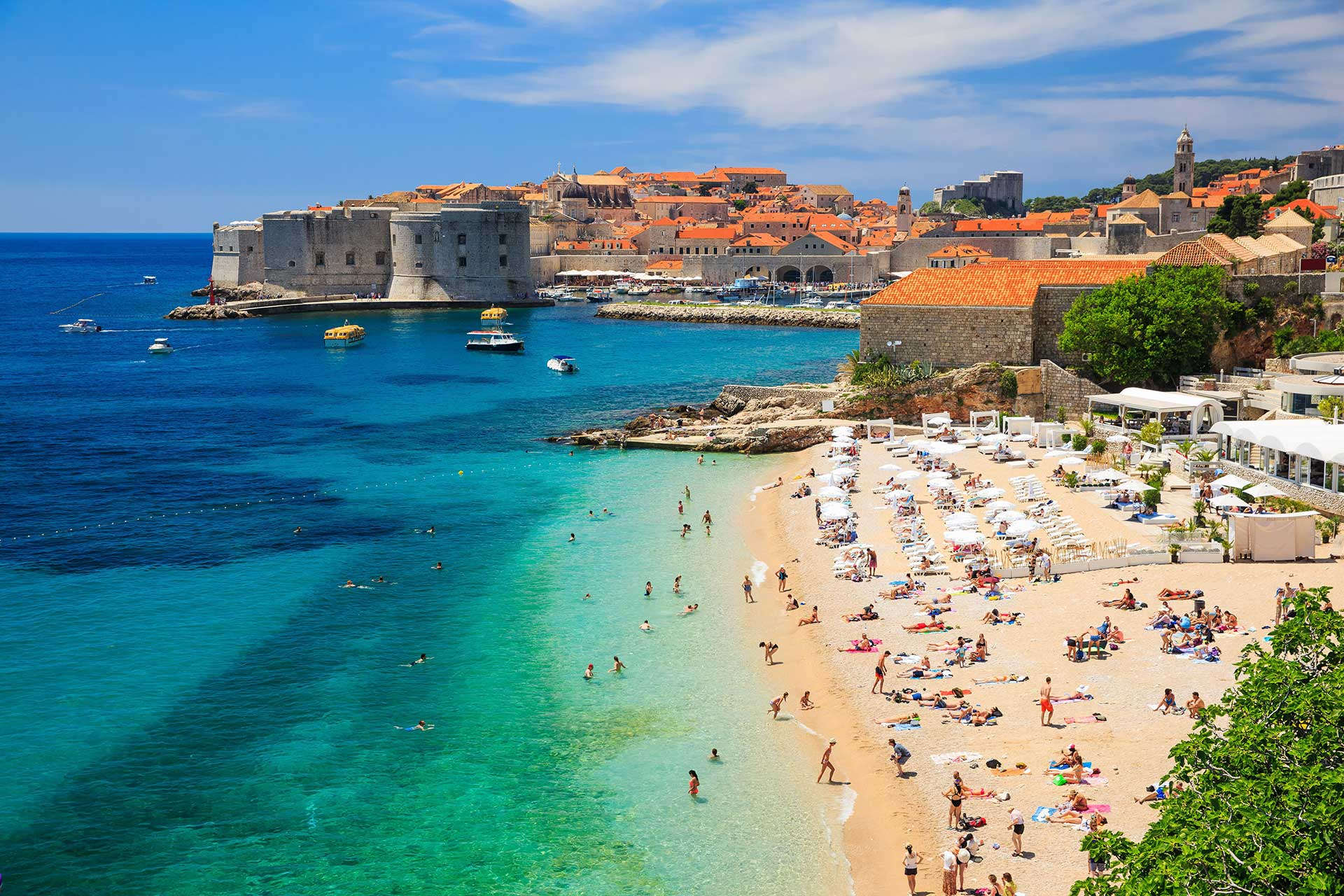 honeymoon in croatia dubrovnik