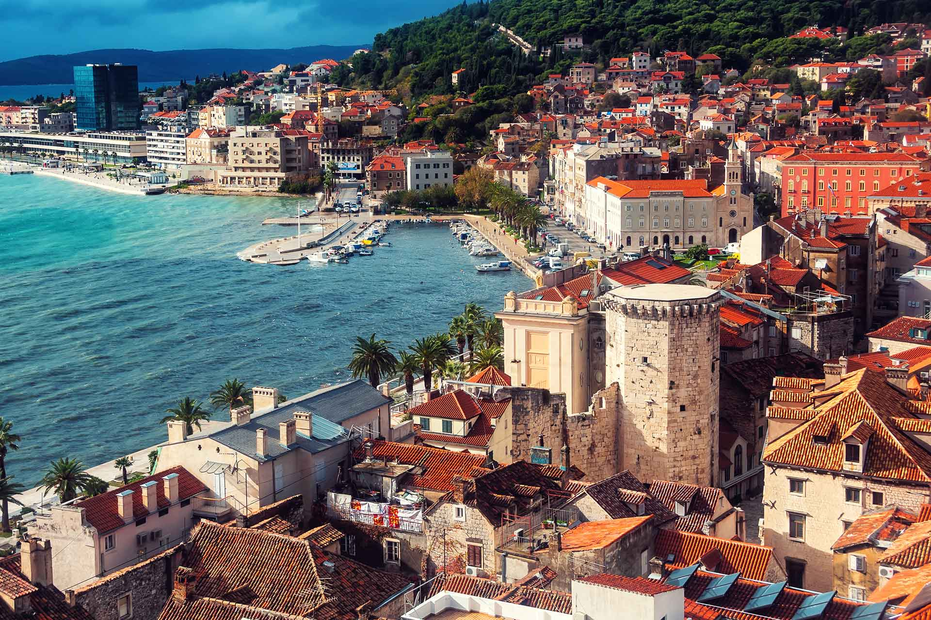 honeymoon in croatia split