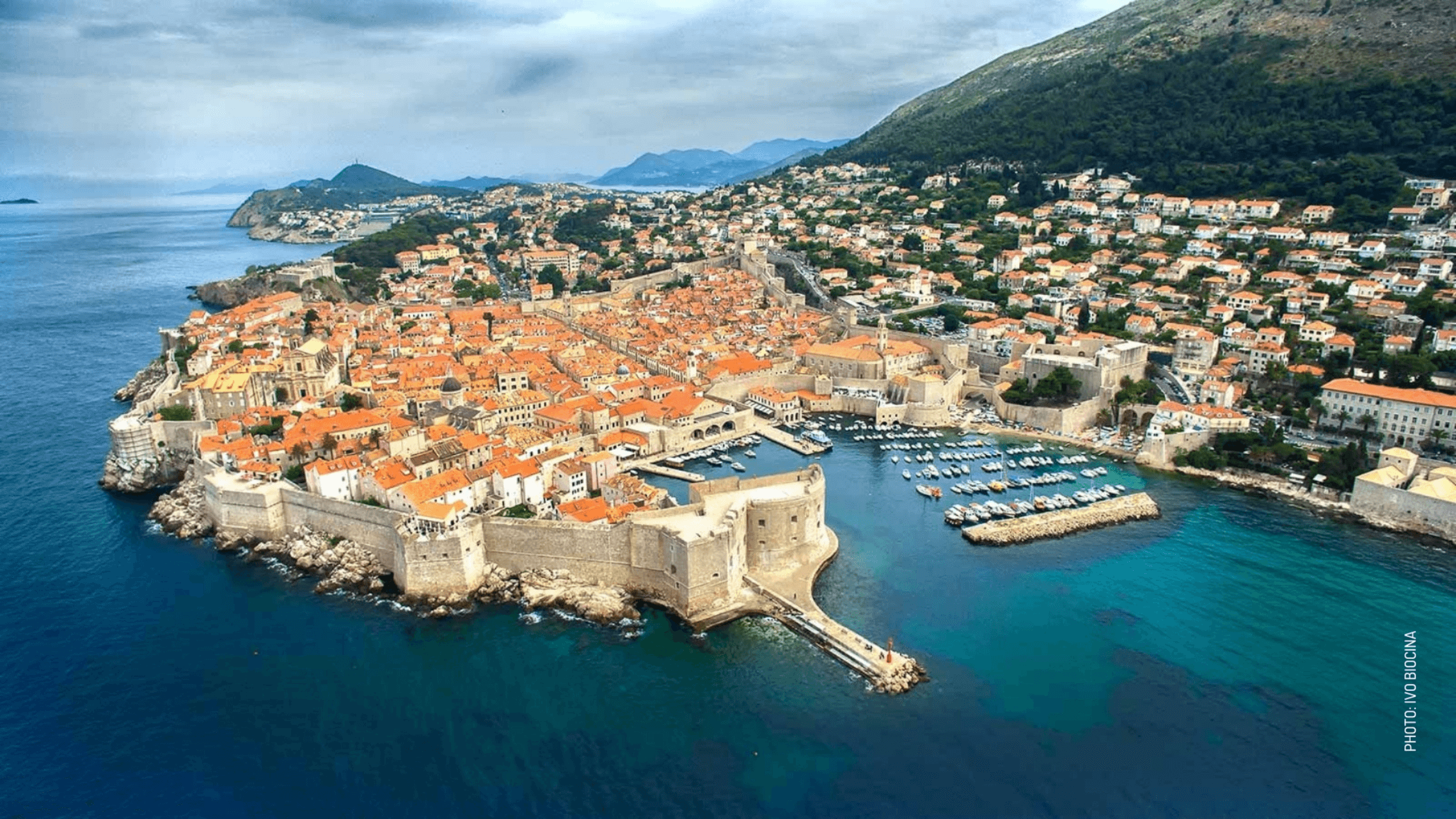 honeymoon in croatia Dubrovnik city walls