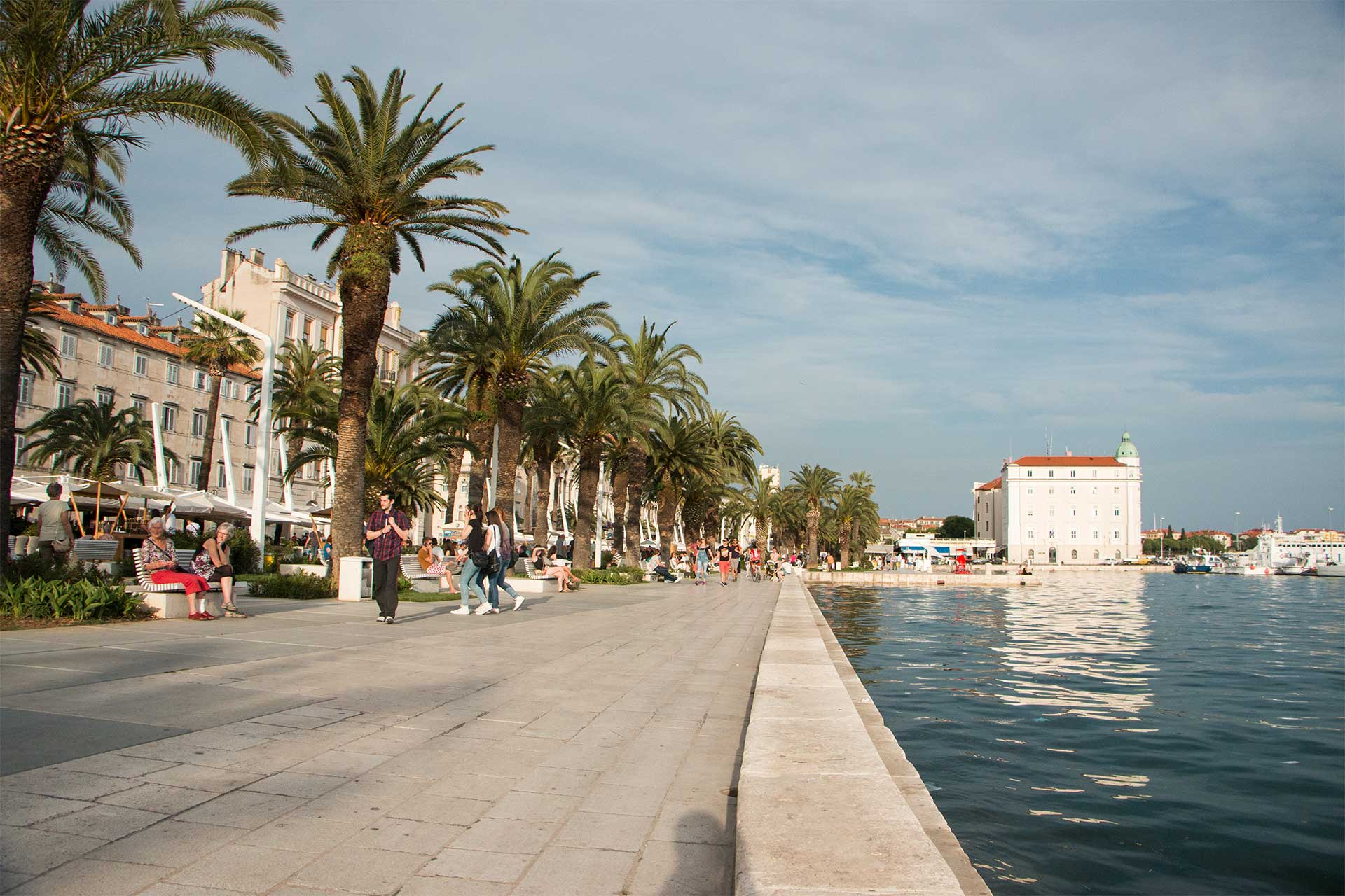 cruising honeymoon in croatia dalmatia split