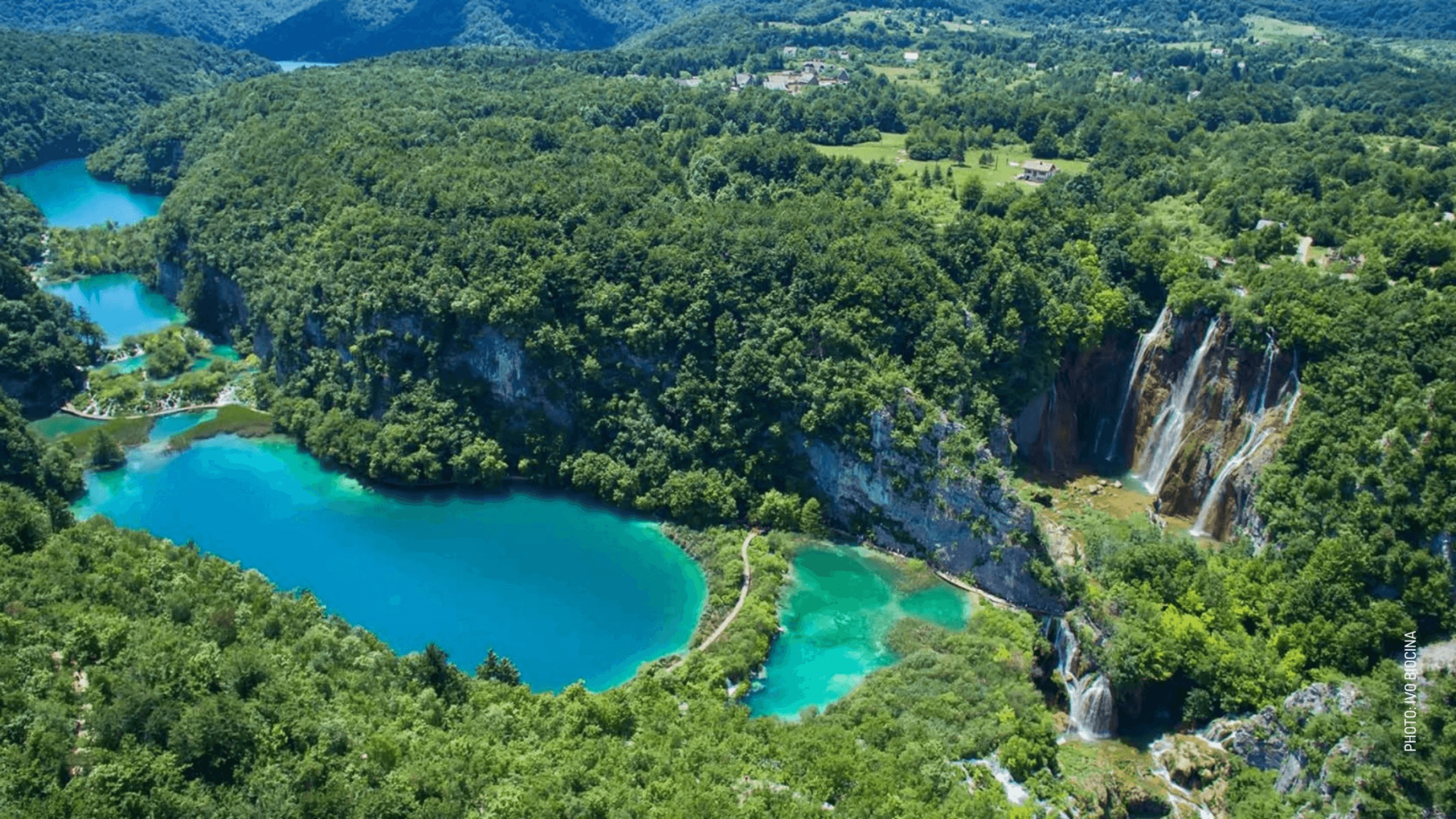honeymoon in croatia plitvice lakes