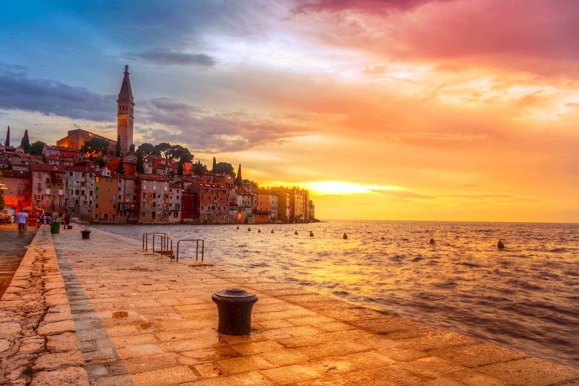 honeymoon in croatia rovinj
