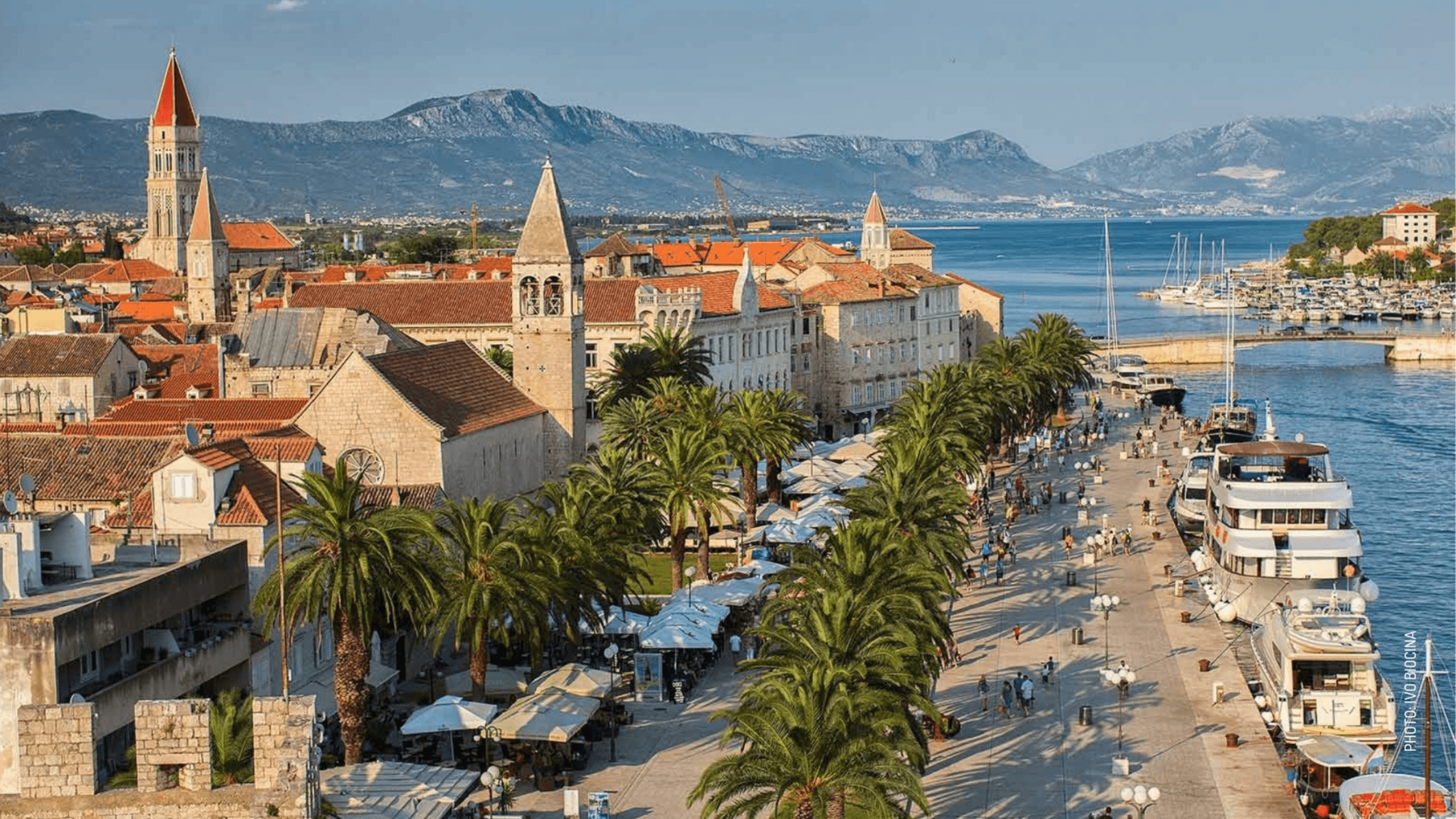 honeymoon in croatia Romanesque historical centre of Trogir